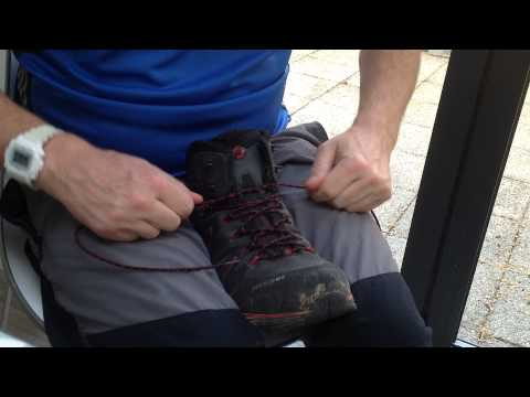 Alternative boot lacing