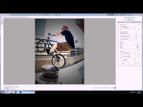 Adobe Photoshop CS5 Tutorial - Fisheye effect