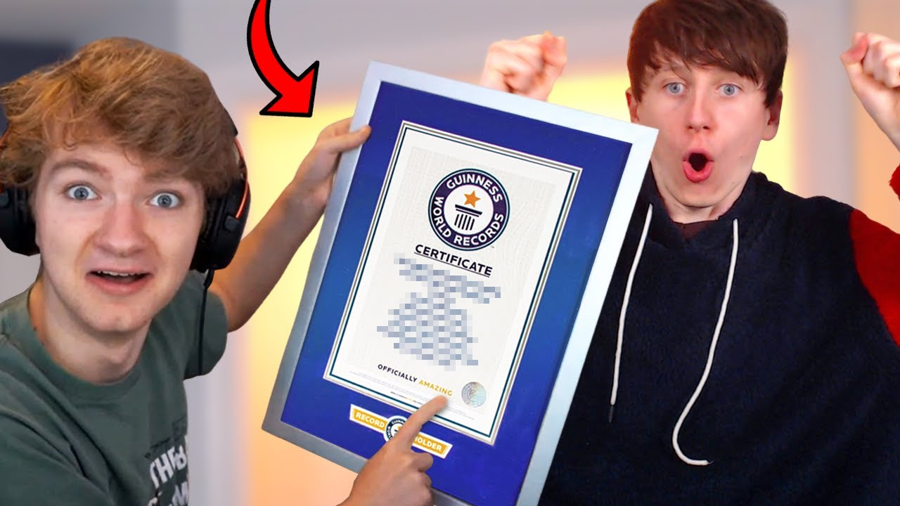 I got a Guinness World Record with TommyInnit