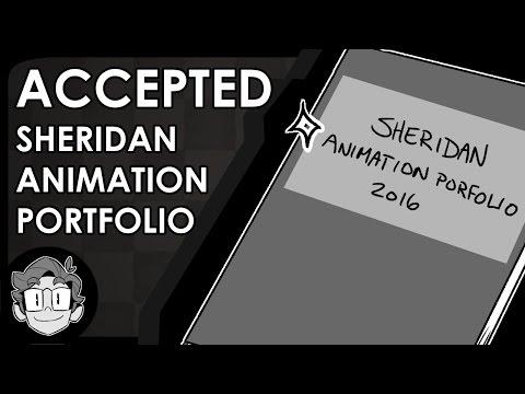 ACCEPTED Sheridan Animation Portfolio! | Portfolio Tour