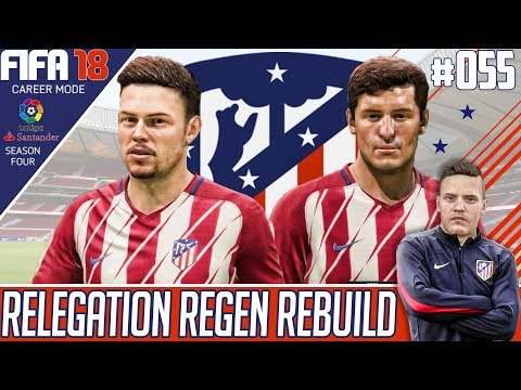 NEW SEASON IN DIV 1 ! - Fifa 18 Atletico Madrid Career Mode - Relegation Regen Rebuild - EP 55
