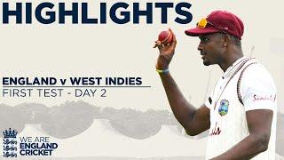 Day 2 Highlights   Stunning Holder Takes Best Ever 6-42   England v West Indies 1st Test 2020