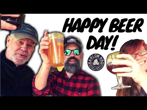 Happy National Beer Day! Offering a Sacrifice to the Beer Gods on Beer Day | Barlow BBQ