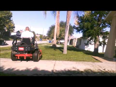 Mowing Today August 11TH 2016 Rental House