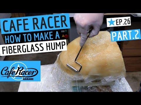 Cafe Racer ★ Hump Build, Fibreglass Mould, PART 2, Honda CB750 Cafe Bike Ep 26