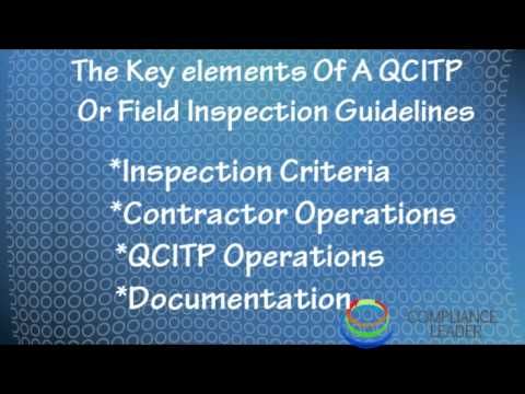 Quality Control Inspection and Testing Plan
