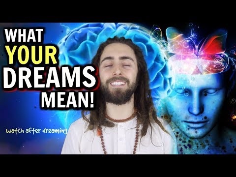 What Your Dreams Mean! (Dream Psychology Explained) *Watch After Dreaming
