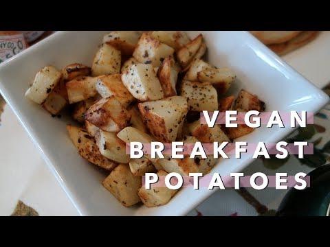 Easy, Healthy Breakfast Potatoes (Vegan) | Vlogmas Day 10