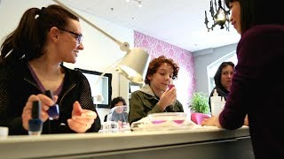Young boy asks for manicure at the nail salon   What Would You Do?   WWYD
