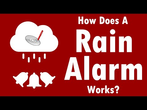 How Does Rain Alarm Circuit Works? - Science Project