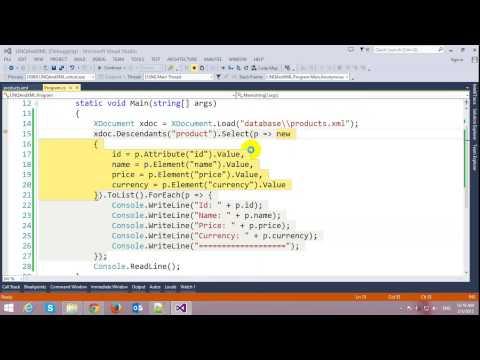 Reading XML using LINQ in C#