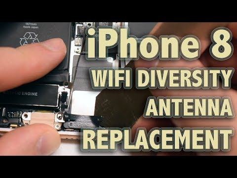 iPhone 8 Diversity WiFi Antenna Replacement