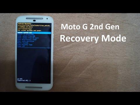 Moto G2 Recovery Mode