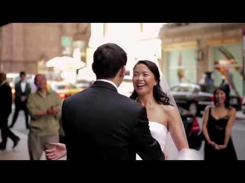christine & eddy  wedding video at Central Park Boathouse