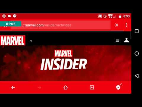How to claim MCoC points from Marvel Insider