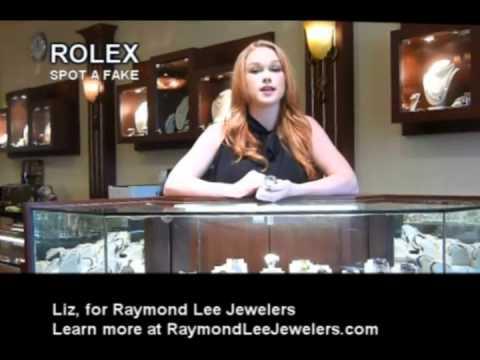 Rolex Watch, Spot a Fake Rolex -- Shopping Tips Florida