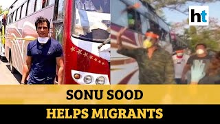 Sonu Sood helps migrants reach home; social media abuzz with memes, praises