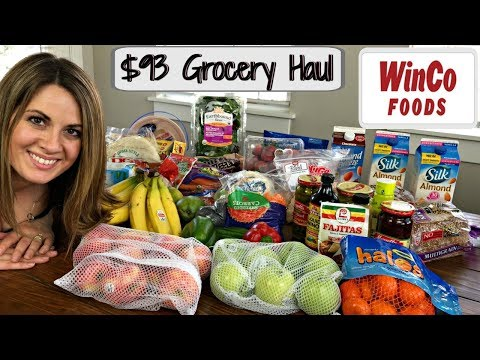 $93 WINCO GROCERY HAUL :: FAMILY OF 5 :: APRIL 9, 2018