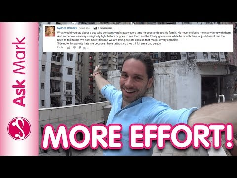 How To Make Him Put In More Effort | Why Men Stop Putting In Effort – Ask Mark #63