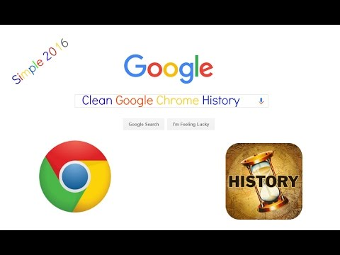 How To Clean Google Chrome History