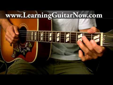 Fast Acoustic Blues Guitar Lick Lesson