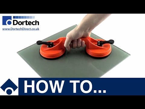 Dortech Direct How To: Silverline: Double Suction Glass Lifter - Vacuum Cup - A1004