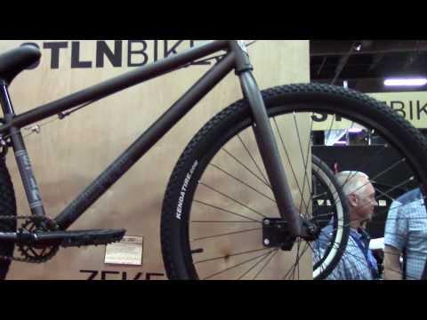 26 inch BMX Bike By STOLEN - Interbike 2013 - New Bike Check - BikemanforU