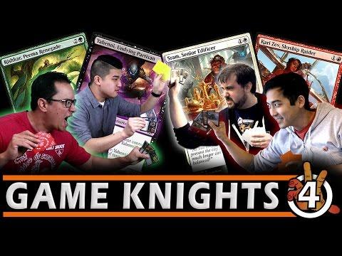 Who's the best Aether Revolt Commander? Sram, Kari Zev, Rishkar, Yahenni Gameplay l Game Knights #4