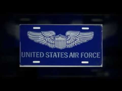 Military License Plates Video