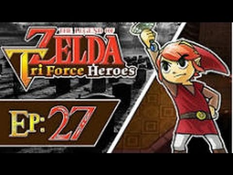 The Legend of Zelda: Triforce Heroes - Part 27: Lone Labyrinth (3 Players)