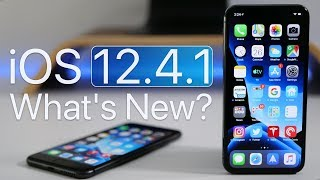 Download iOS 12.4.1 is Out! - What's New? Video