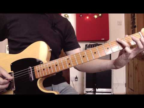 How to Play Chicken Pickin' Style Country Licks   Guitar Lesson