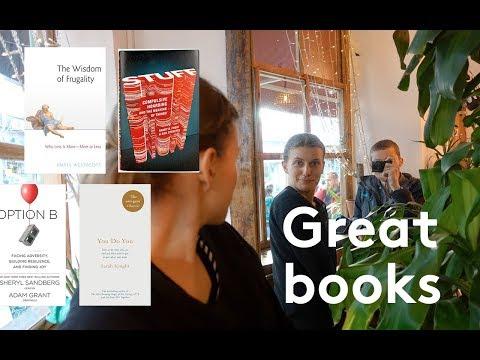 BOOKS I'VE BEEN LOVING #12 | MINIMALISM, DOING YOU + FRUGAL LIVING