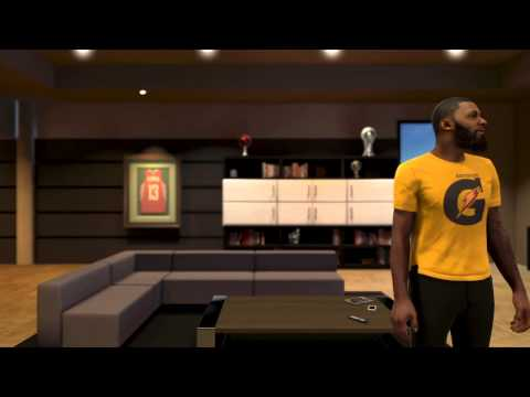 NBA 2k15 My Career (PS4) | SHOE ENDORSEMENT  + GATORADE COMMERCIAL |