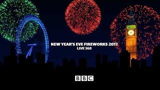 London Fireworks 2016 / 2017 - New Year