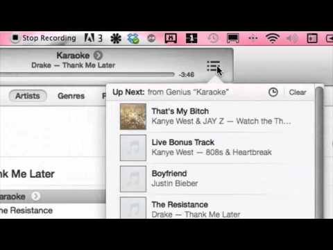 How to Delete a Genius Mix in iTunes : iTunes Media