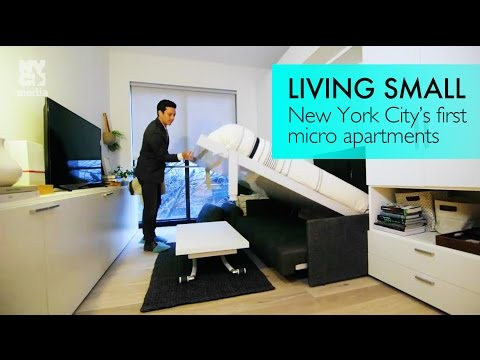 Tiny Living: We get a sneak peek at NYC's first