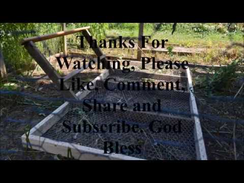 How to Build a Grass Protector for your Chicken Coop