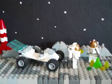 Lego Moon Exploration MOC\Diorama