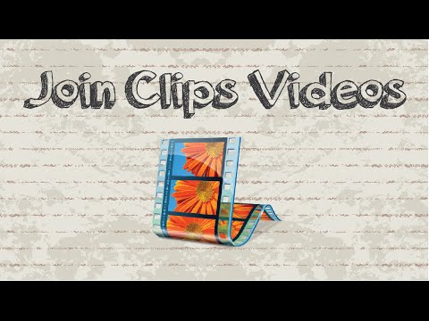 How to join clips / videos in Windows Movie Maker