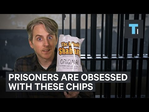 Prisoners are obsessed with The Whole Shabang potato chips