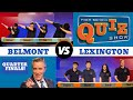 High School Quiz Show - Quarterfinal #:1 Belmont vs. Lexington (909)