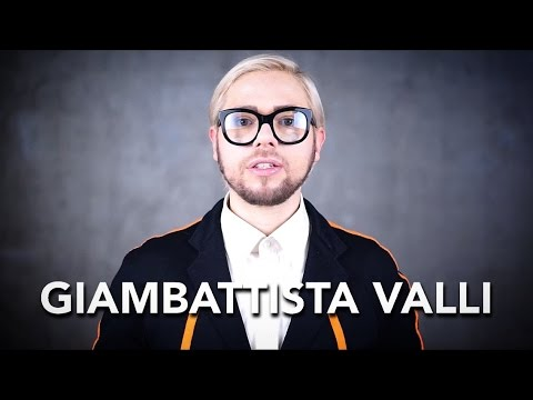 How to pronounce GIAMBATTISTA VALLI