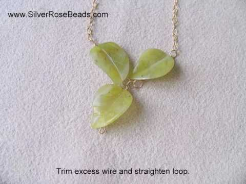 How to make a Grapevine Necklace