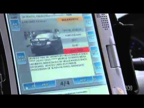 NSW Police Automatic Numberplate Recognition technology (ANPR)