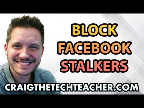 Block Facebook Douchebag Stalkers Without Unfriending