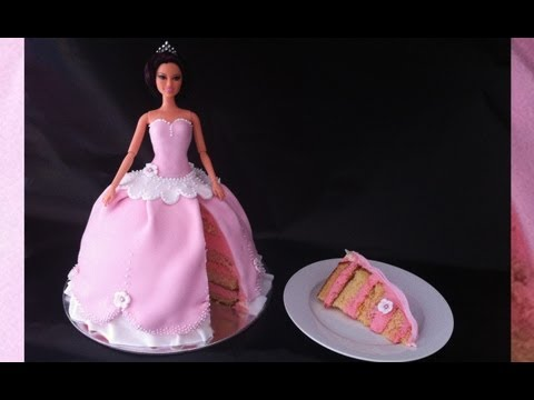 PRINCESS CAKE How to make princess birthday cake how to cook that reardon