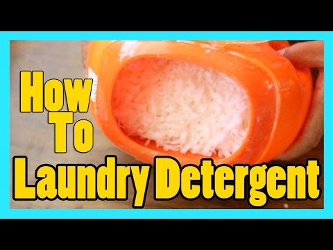 HOW TO | Homemade Laundry Detergent