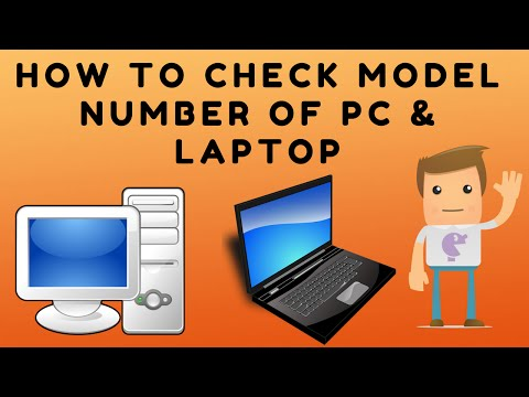 How to Check System Model Number & Information PC and Laptop