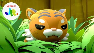 Indochinese Tiger Chase + Rescue 🐯 The Octonauts: Above & Beyond   Netflix Jr